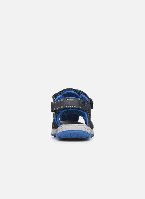 Sandales et nu-pieds Lurchi by Salamander Boris Bleu vue droite