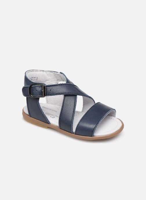 Sandales et nu-pieds Little Mary Georges Bleu vue détail/paire