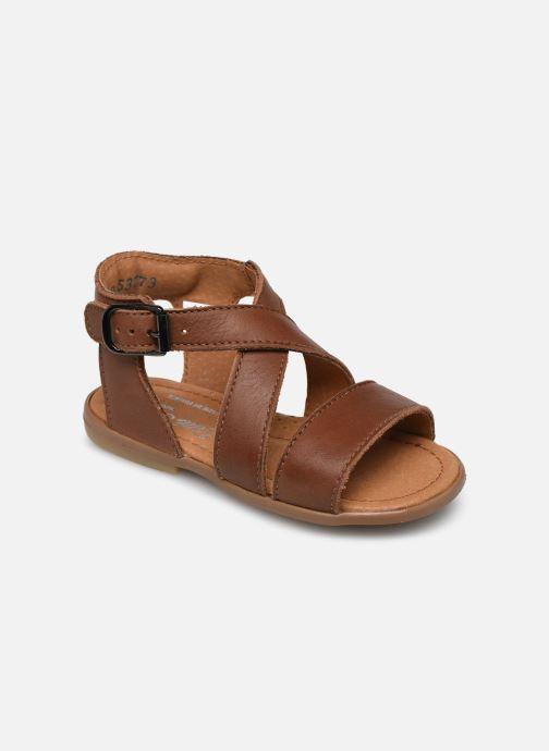 Sandales et nu-pieds Little Mary Georges Marron vue détail/paire
