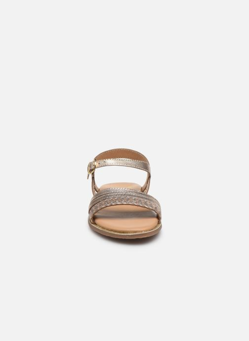 Sandales et nu-pieds Little Mary Lime Or et bronze vue portées chaussures