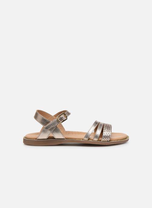 Sandales et nu-pieds Little Mary Lime Or et bronze vue derrière