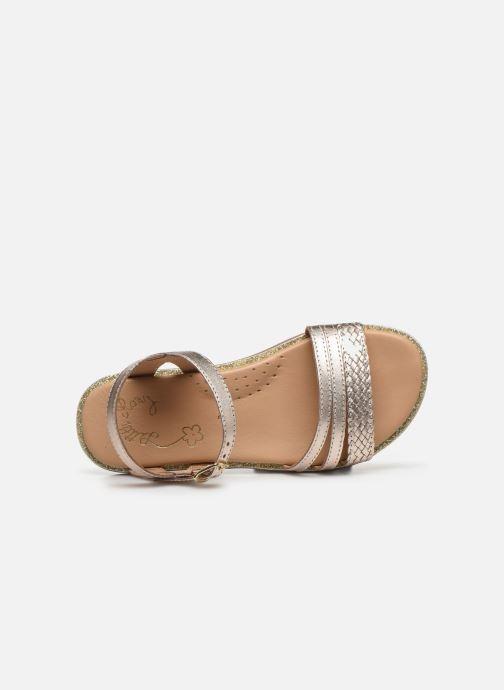 Sandales et nu-pieds Little Mary Lime Or et bronze vue gauche