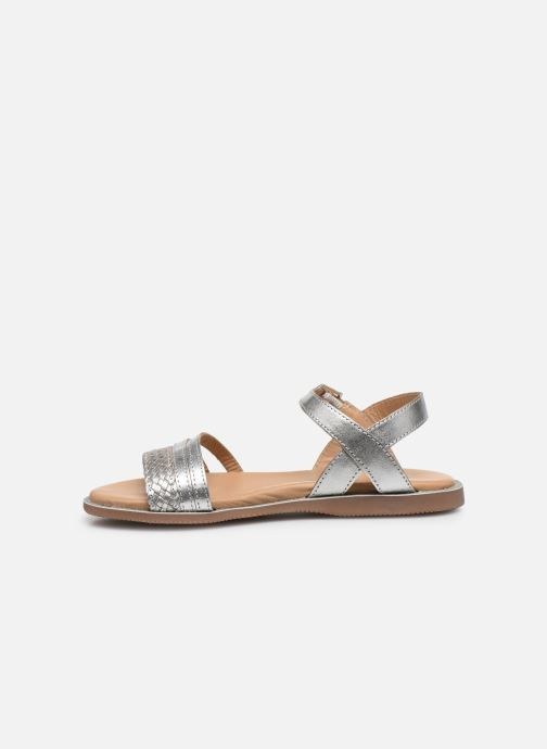 Sandali e scarpe aperte Little Mary Lime Argento immagine frontale