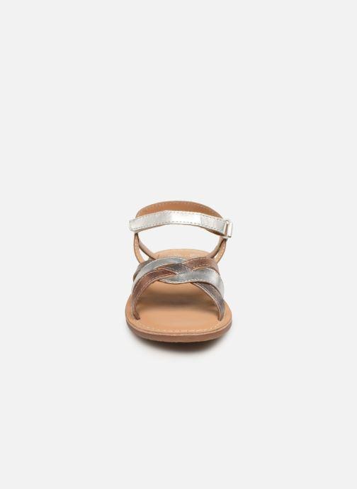 Sandales et nu-pieds Little Mary Light Argent vue portées chaussures
