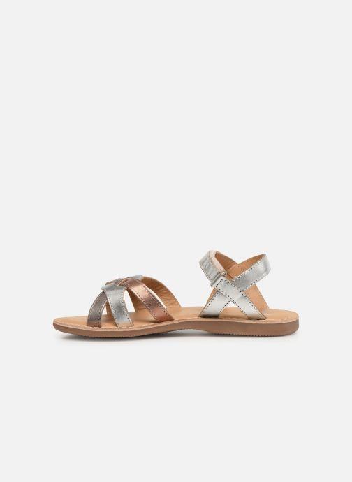 Sandales et nu-pieds Little Mary Light Argent vue face