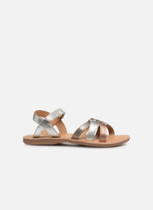 Sandales et nu-pieds Little Mary Light Argent vue derrière