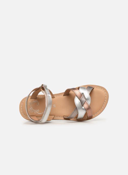 Sandales et nu-pieds Little Mary Light Argent vue gauche