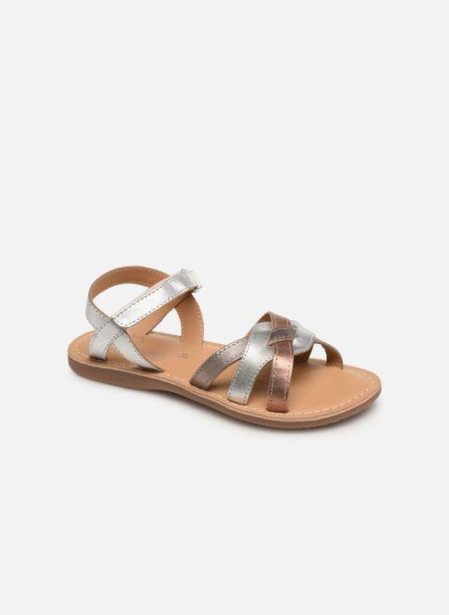 Sandales et nu-pieds Little Mary Light Argent vue détail/paire