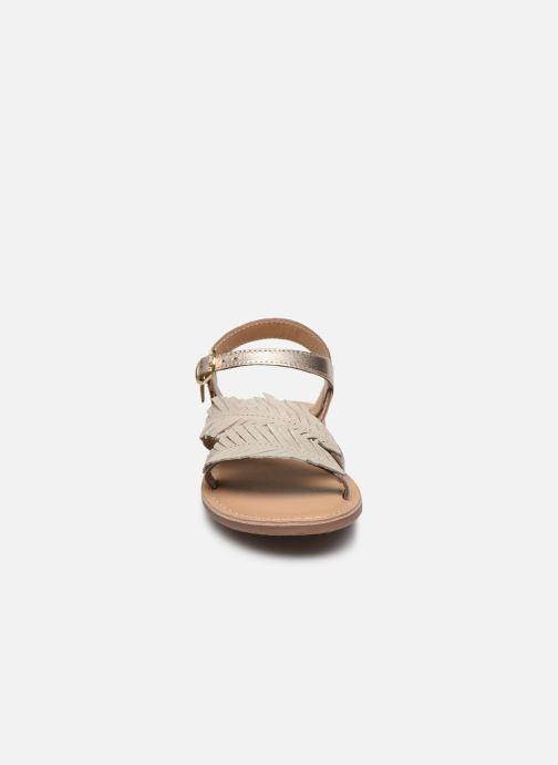 Sandali e scarpe aperte Little Mary Lorette Oro e bronzo modello indossato