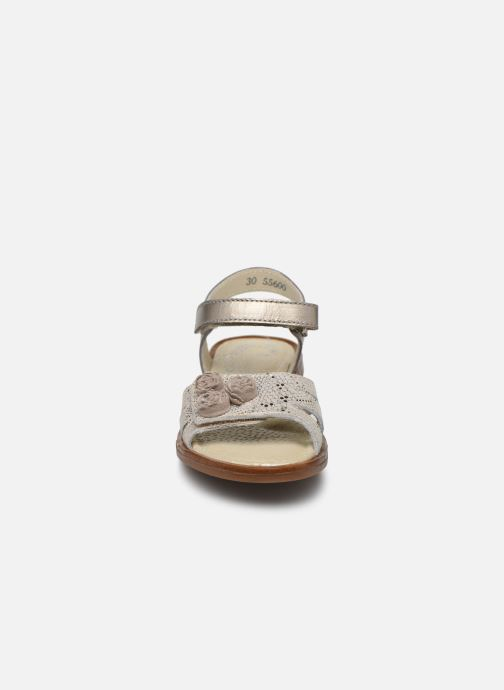 Sandales et nu-pieds Little Mary Lilyrose Or et bronze vue portées chaussures