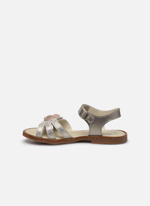Sandales et nu-pieds Little Mary Lilyrose Or et bronze vue face