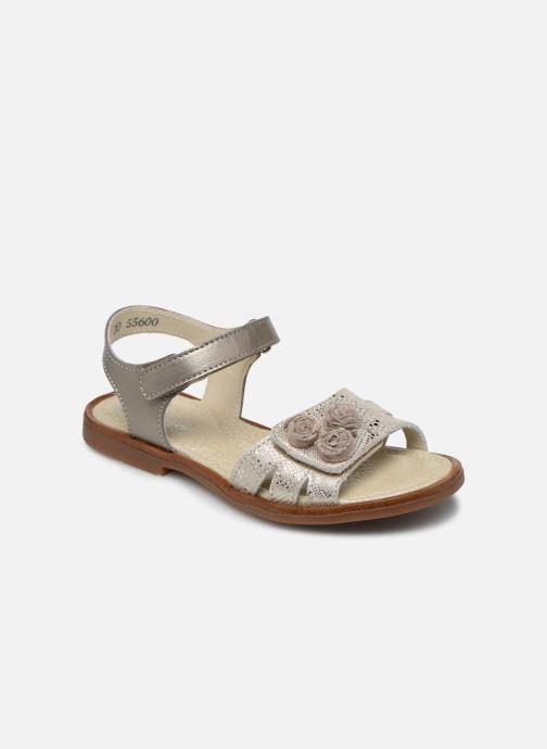 Sandales et nu-pieds Little Mary Lilyrose Or et bronze vue détail/paire