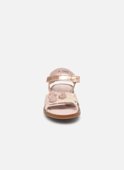 Sandales et nu-pieds Little Mary Lilyrose Rose vue portées chaussures
