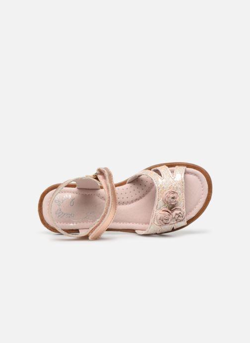 Sandales et nu-pieds Little Mary Lilyrose Rose vue gauche