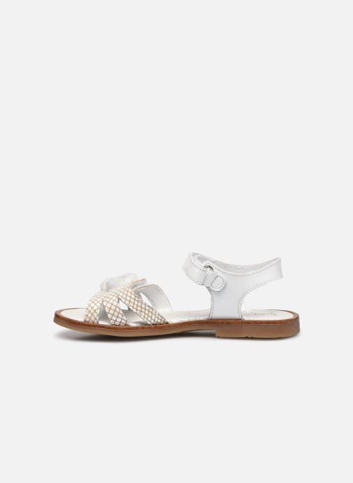 Sandales et nu-pieds Little Mary Lilyrose Blanc vue face