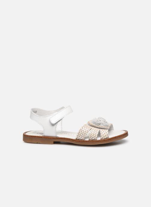 Sandales et nu-pieds Little Mary Lilyrose Blanc vue derrière