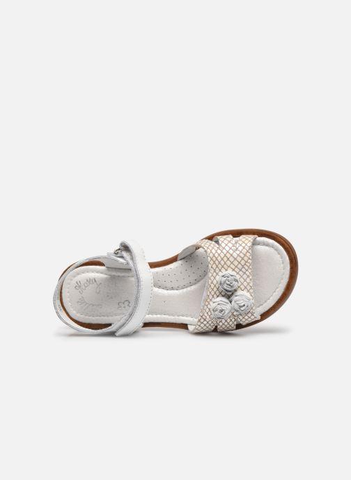 Sandales et nu-pieds Little Mary Lilyrose Blanc vue gauche
