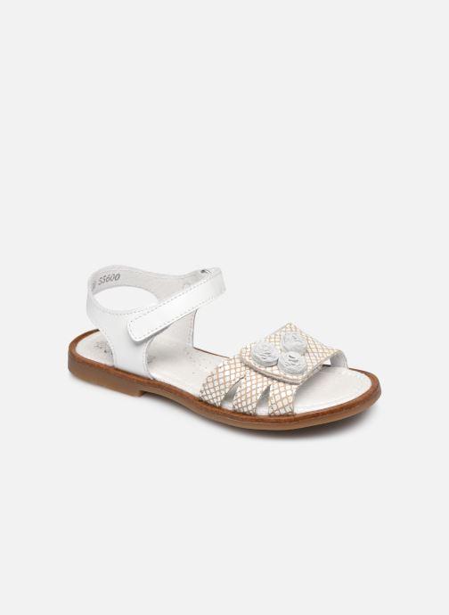 Sandales et nu-pieds Little Mary Lilyrose Blanc vue détail/paire