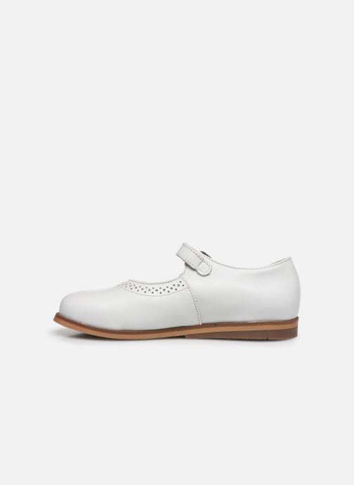 Ballerines Little Mary Leslie Blanc vue face