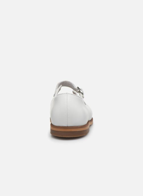 Ballerines Little Mary Leslie Blanc vue droite