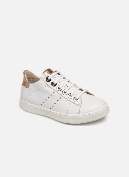 Baskets Little Mary Laurene Blanc vue détail/paire