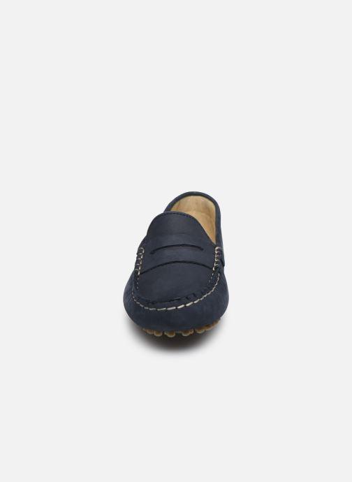 Mocassins Little Mary Dream Bleu vue portées chaussures