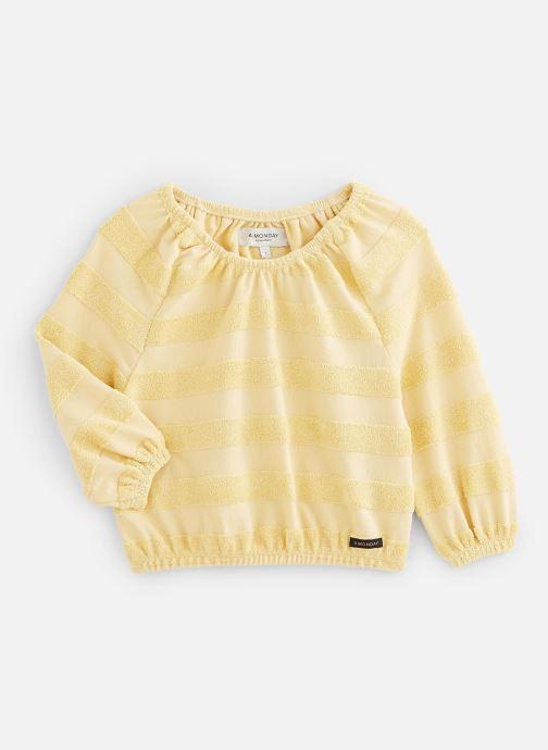 Vêtements A Monday In Copenhagen  Didi Blouse Jaune vue détail/paire