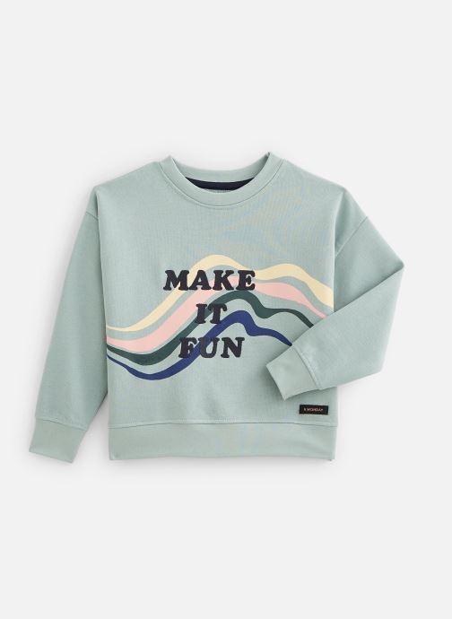 Vêtements A Monday In Copenhagen  Ziggy Blouse Vert vue détail/paire