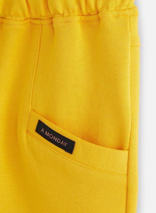 Vêtements A Monday In Copenhagen  Bailey Short Jaune vue portées chaussures