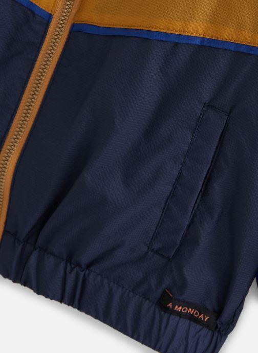 Vêtements A Monday In Copenhagen  Vio Zipperjacket Bleu vue portées chaussures