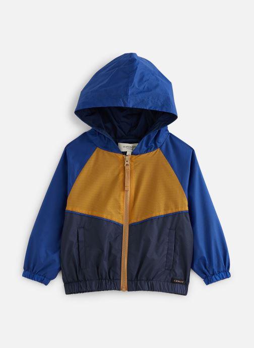 Vêtements A Monday In Copenhagen  Vio Zipperjacket Bleu vue détail/paire