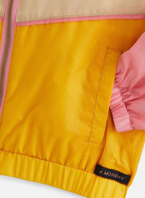 Vêtements A Monday In Copenhagen  Vio Zipperjacket Rose vue portées chaussures