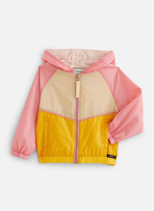 Kleding A Monday In Copenhagen  Vio Zipperjacket Roze detail