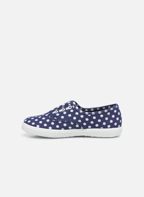 Sneakers Cienta Eléonore Azzurro immagine frontale