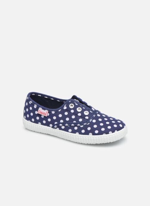 Sneakers Cienta Eléonore Blauw detail