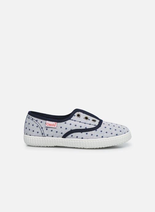 Sneaker Cienta Eléonore grau ansicht von hinten