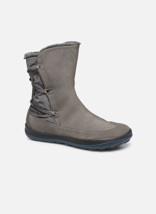 Bottines et boots Camper Peu Pista K400298 Gris vue détail/paire