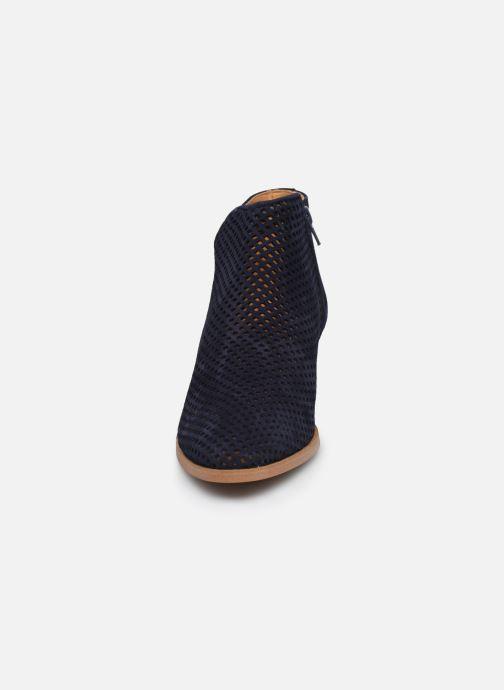 Bottines et boots Georgia Rose Arletio Bleu vue portées chaussures
