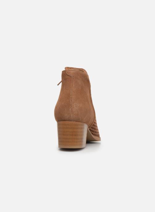 Bottines et boots Georgia Rose Arletio Beige vue droite