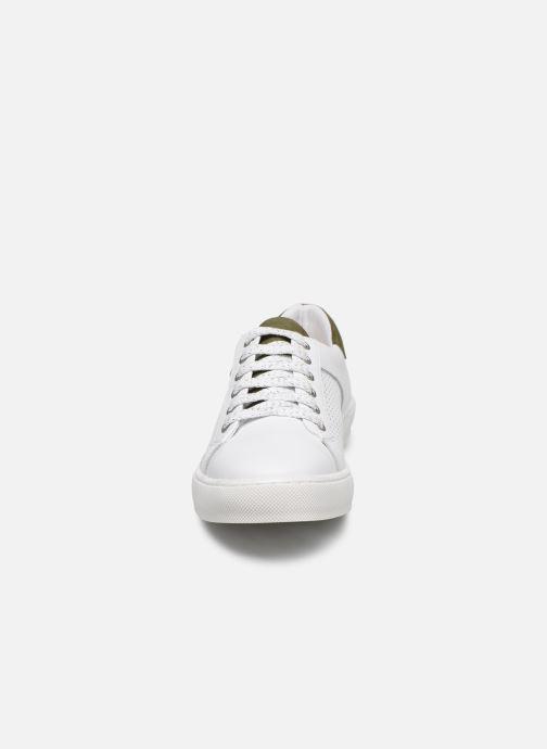 Baskets Georgia Rose Alesio Blanc vue portées chaussures
