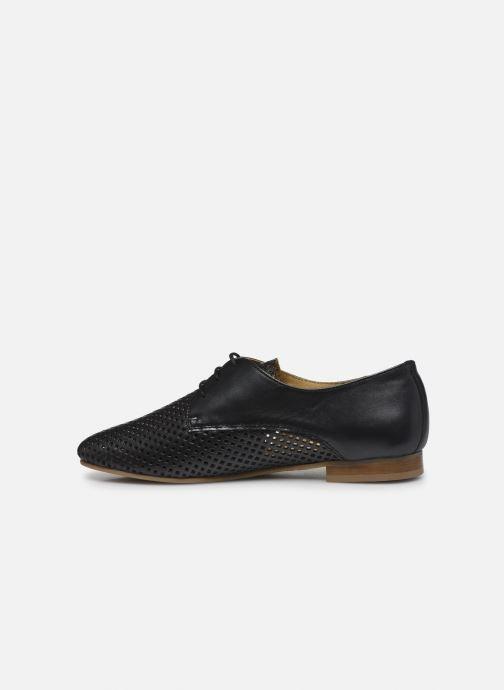 Zapatos con cordones Georgia Rose Apira Negro vista de frente