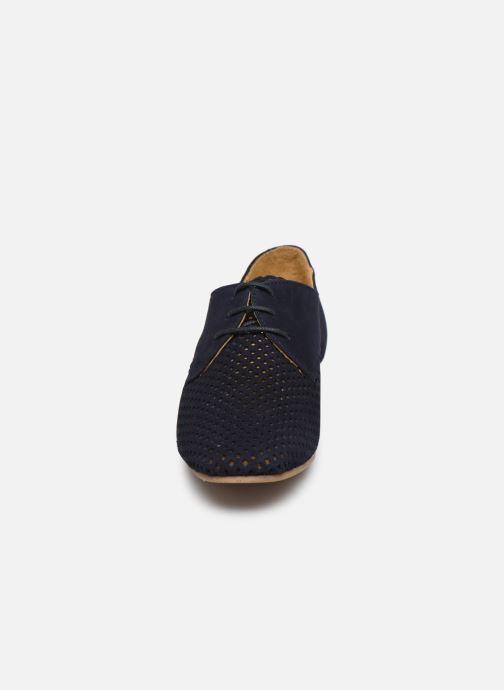 Chaussures à lacets Georgia Rose Apira Bleu vue portées chaussures