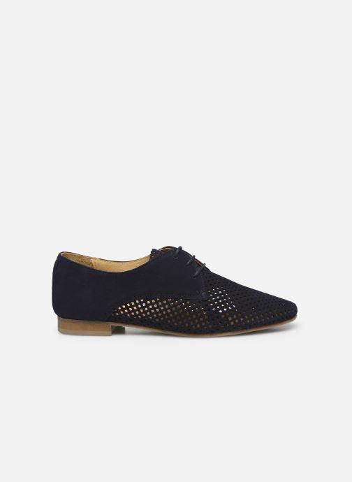 Zapatos con cordones Georgia Rose Apira Azul vistra trasera