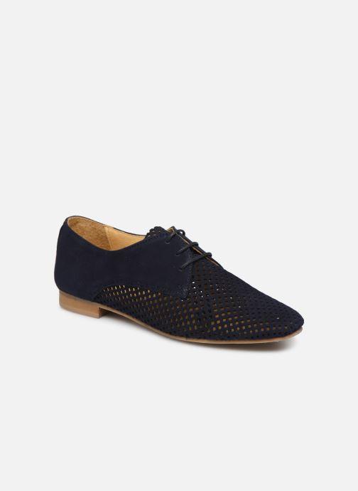 Zapatos con cordones Georgia Rose Apira Azul vista de detalle / par