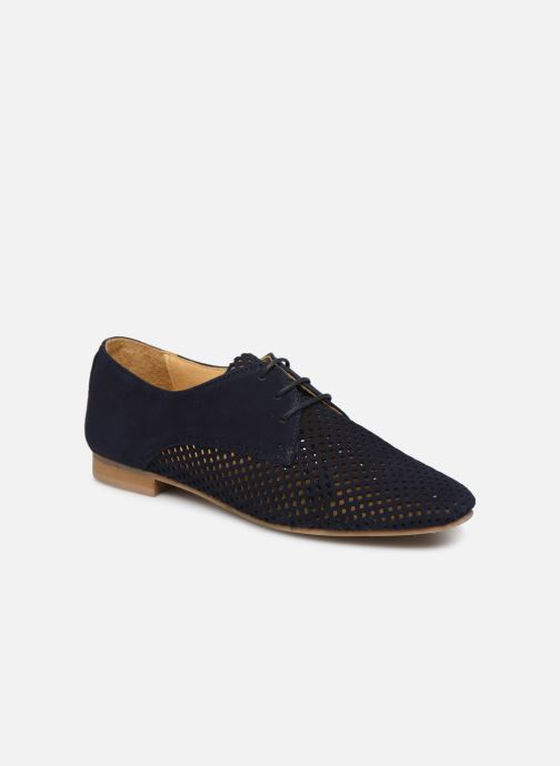 Chaussures à lacets Georgia Rose Apira Bleu vue détail/paire
