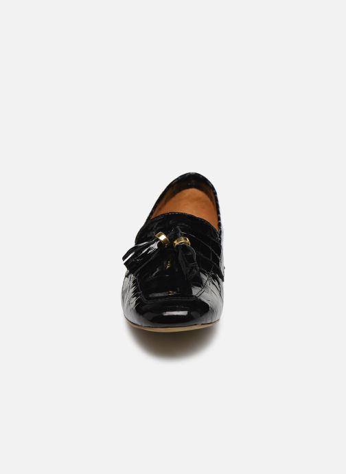 Mocassins Georgia Rose Arlia Noir vue portées chaussures