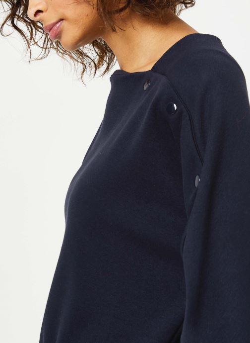 Vêtements Frnch F10087 Bleu vue face