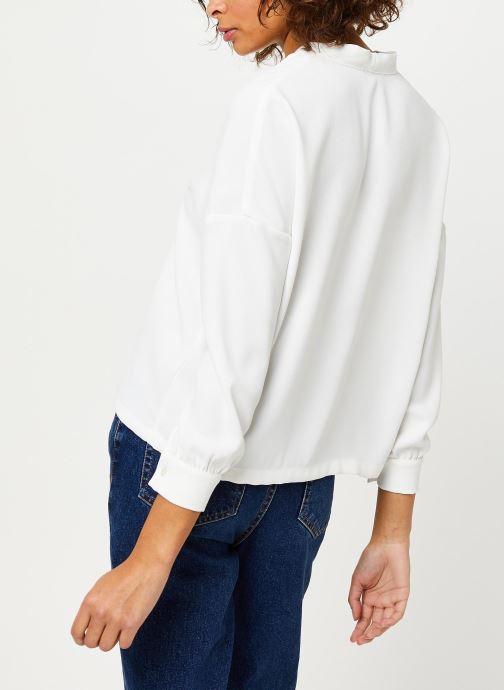 Vêtements Frnch F9918 Blanc vue portées chaussures