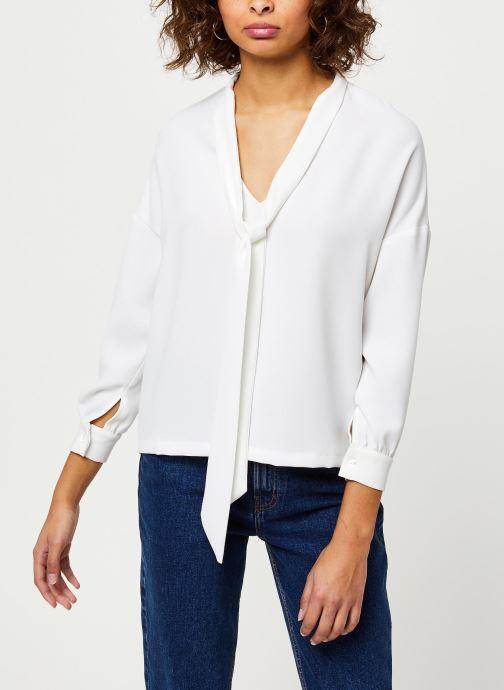 Vêtements Frnch F9918 Blanc vue droite