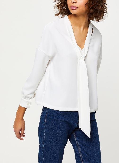 Vêtements Frnch F9918 Blanc vue détail/paire